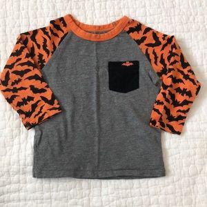 Baby Gap Halloween shirt with bats, 18-24 mo